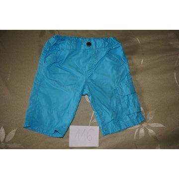Spodenki spodnie krótkie szorty bermudy C&A 116