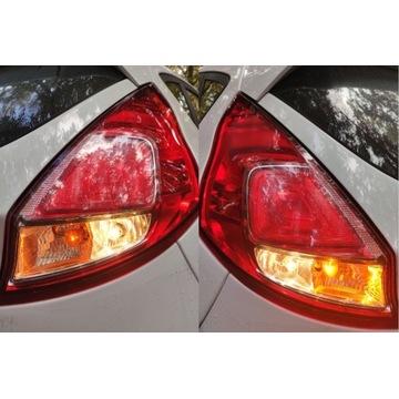 Lampy tylne prawa+lewa Ford Fiesta MK7 2016 1.0EB