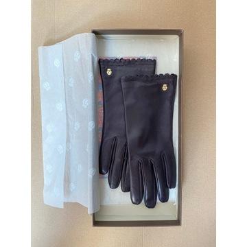 Rękawiczki ROECKL skóra NOWE rozmiar 7