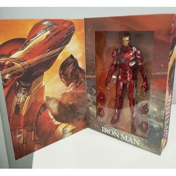 Iron Man MK46 LED figurka 17cm Mark Civil war
