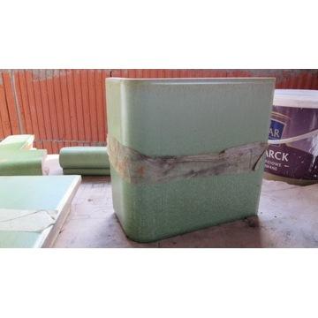 kafle piecowe zielone