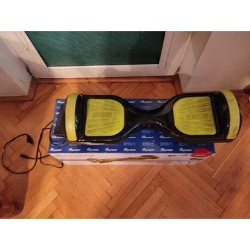 """Hoverboard Skymaster Smart Dual 6"""" czarno-żółty"""