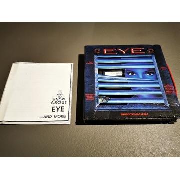 Gra ZX spectrum box, kaseta, EYE