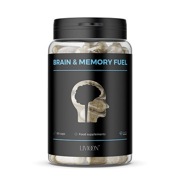 BRAIN & MEMORY FUEL pamięć suplement diety 60 kaps
