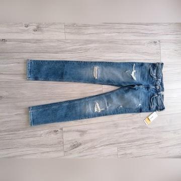 Nowe jeansy H&M rozmiar 28