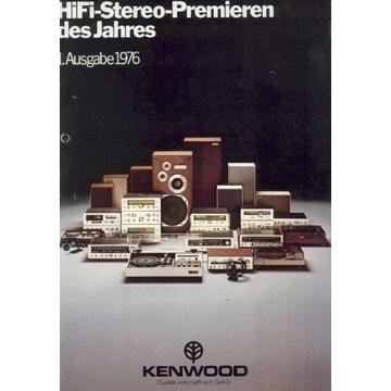 Katalog KENWOOD z 1976