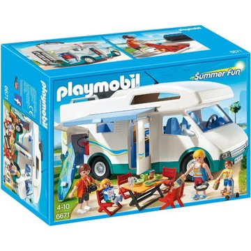 Playmobil Summer Fun 6671 Auto kemping KLEKS W-wa