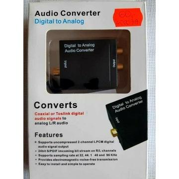 Konwerter sygnału audio (Cyfrowy- Analogowy)