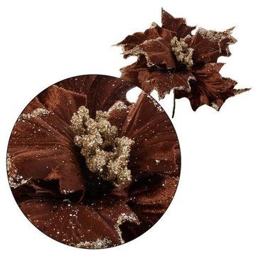 Poinsecja - pik welurowy 25 cm 12 sztuk