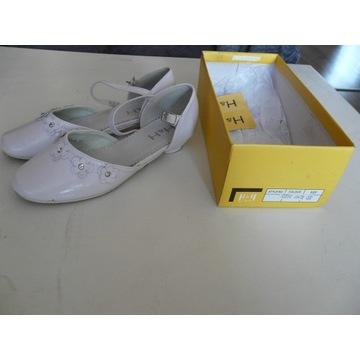 Buty dziewczęce komunijne