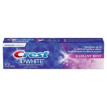 Pasta do zębów CREST RADIANT MINT USA