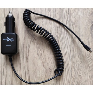 Ładowarka samochodowa ExtremeStyle 2.1A micro USB