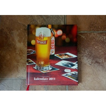 nowy TYSKIE Notatnik Kalendarz 2011