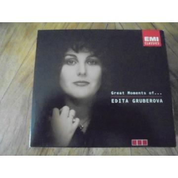 EDITA GRUBEROVA  Great Moments of ….   3CD