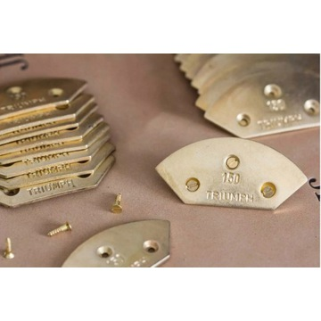 FRANCUSKIE CZUBKI Metalowe blaszki do butów ŻABKI