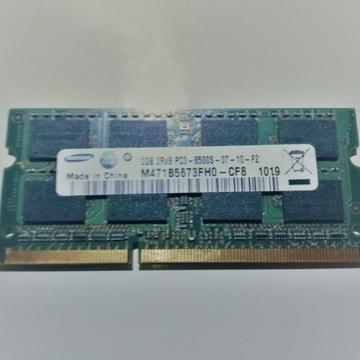 SAMSUNG 2GB DDR3 1066Mhz 2Rx8 PC3-8500S-07-10-F2