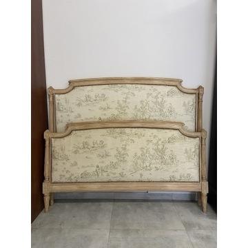Łóżko tapicerowane Ludwik XVI Francja XIXw