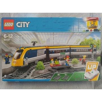 NIEUŻYWANY Lego City 60197 Pociąg pasażerski
