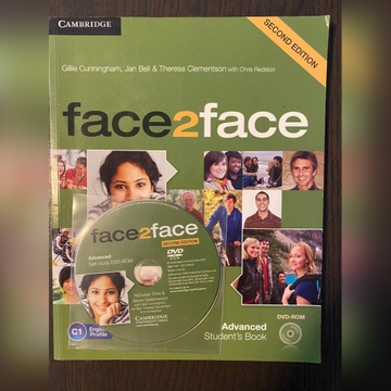 Face2face Advanced Cambridge Student's book CD
