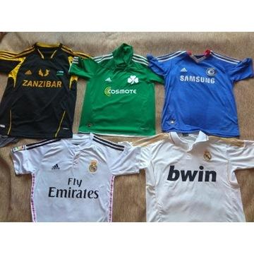 Koszulki piłkarskie Real, Chelsea, Panath. 152-164