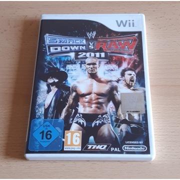 WWE SMACKDOWN VS RAW 2011 WII PAL