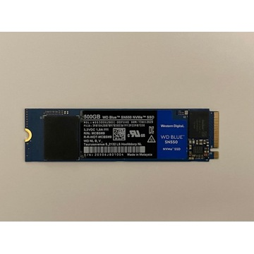 Dysk SSD WD Blue SN550 NVMe M2 500GB