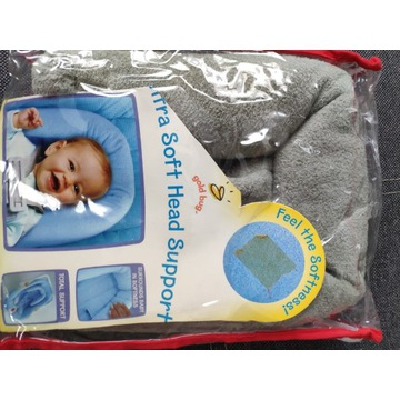 ochraniacz na główkę do fotelika dla noworodka