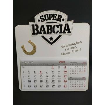 Kalendarz super babcia, prezent, dzień babci