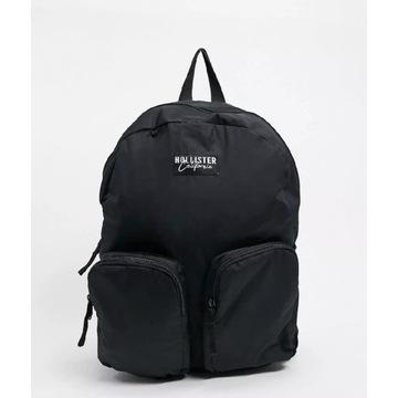 Plecak Hollister czarny +bonus