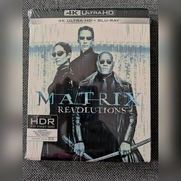 Matrix Rewolucje 4K UHD PL