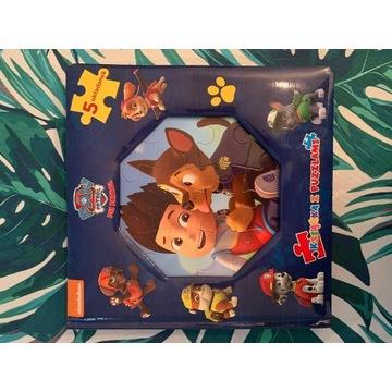 PSI PATROL - Książka z puzzlami