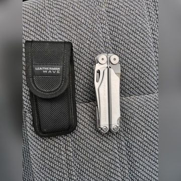 Leatherman WAVE+futerał stan stan B. dobry