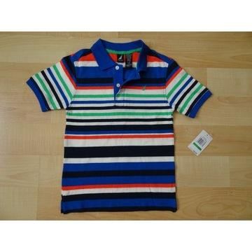 Koszulka polo NAUTICA 7 lat rozmiar 122