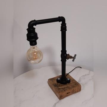 Lampka loft industrialna vintage oryginalna