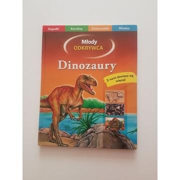 Dinozaury -książka-Młody Odkrywca