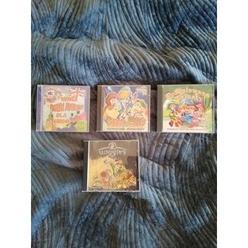Płyty dla dzieci muzyka i gra