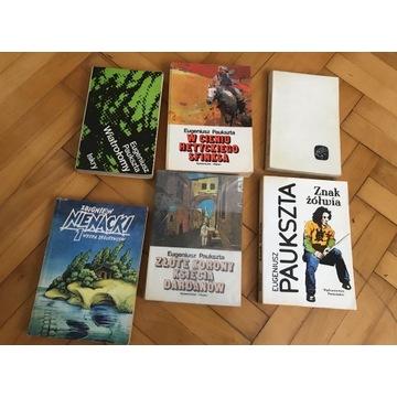 Paukszta, Nienacki - 6 książek