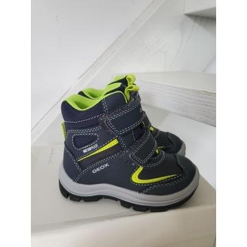 Nowe buty zimowe śniegowce chłopięce geox 22