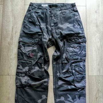 Spodnie Surplus Airborne Vintage Black Camo, M