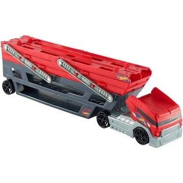 HOT WHEELS mega transporter, auto laweta ,ciężarów