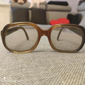 Stare okulary PRL