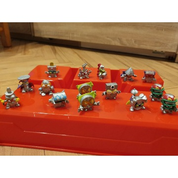 Super Zings figurki srebrne
