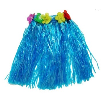 Niebieska Spódniczka Hawajska spódnica