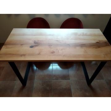 Stół loftowy z litego drewna olchowego