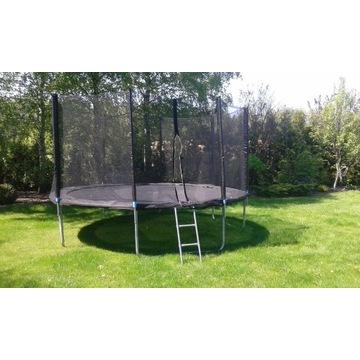 Trampolina ogrodowa dziecięca - duża 8 elementowa