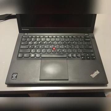 Lenovo x240 i5 4GB 120GB stacja dok. 3 zasilacze