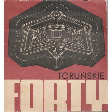 Toruńskie forty broszura wydana przez PTT-K Toruń