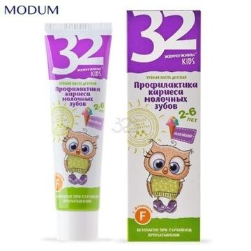 32 PEARLS Pasta do zębów dla dzieci