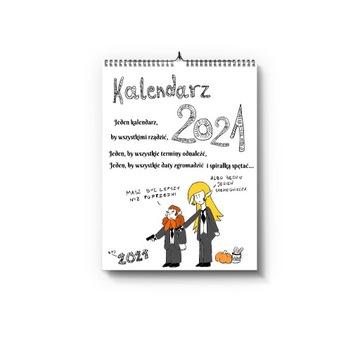 Kalendarz 2021 Legolas i Gimli