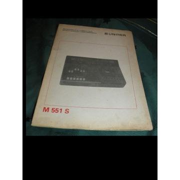 INSTRUKCJA SERWISOWA  MAGNETOFONU FINEZJA  M 551 S